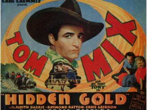 Hidden Gold, 1932 Art Print