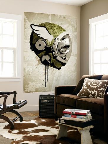 Urban Spaceman Giant Art Print