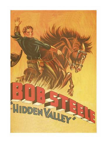 Hidden Valley Premium Giclee Print