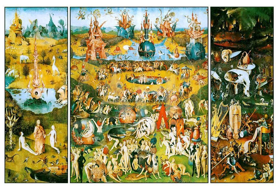Hieronymus Bosch Garden Of Earthly Delights Art Poster Print Prints At Allposters