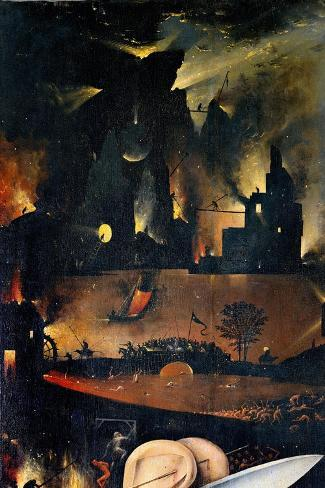 Garden of Earthly Delights-Hell Music Lámina