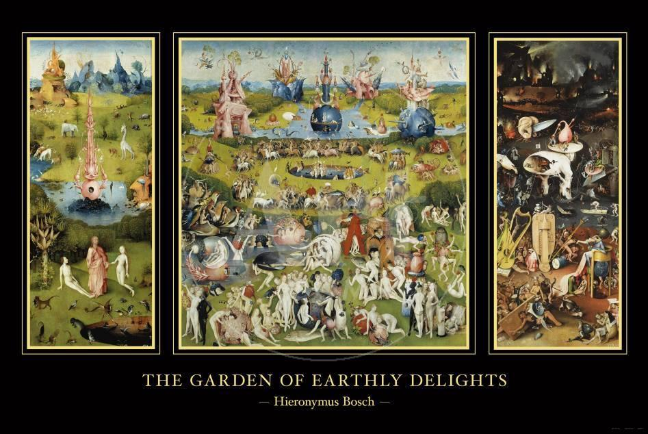 The Garden Of Earthly Delights C 1504 Prints By Hieronymus Bosch At Allposters