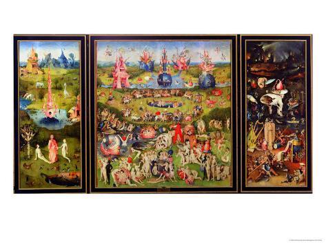 The Garden of Earthly Delights, circa 1500 Giclee Print