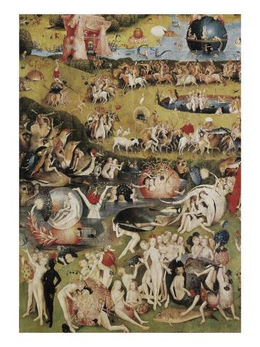 The Garden Of Earthly Delights Taide Tekij N Hieronymus