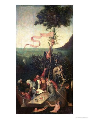 The Ship of Fools, circa 1500 Giclee Print