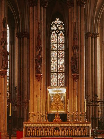 High Altar, Cologne Cathedral Photographic Print
