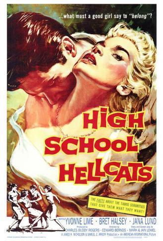 High School Hellcats Poster
