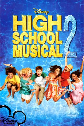 High School Musical 2 Pôster