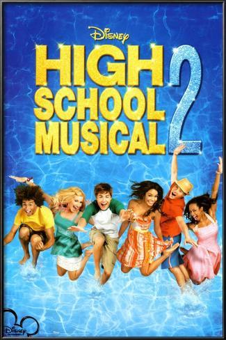 High School Musical 2 Framed Poster
