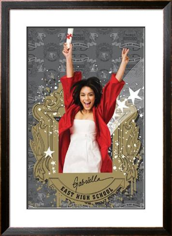 High School Musical 3 Pôster emoldurado