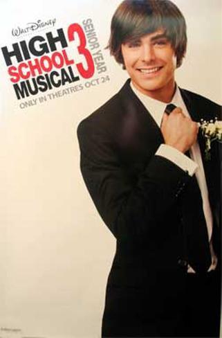 High Schoolmusical 3: The Senior Year Original Poster