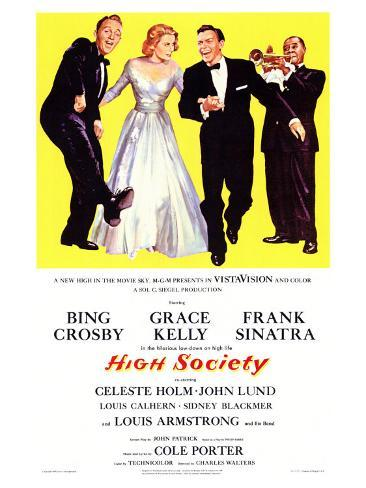 High Society, 1956 Art Print