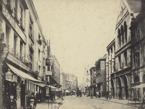 High Street, Exeter, Devon Photographic Print
