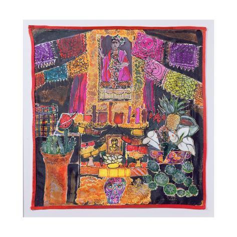 Frida Kahlo (1910-54) Shrine, 2005 Giclee Print