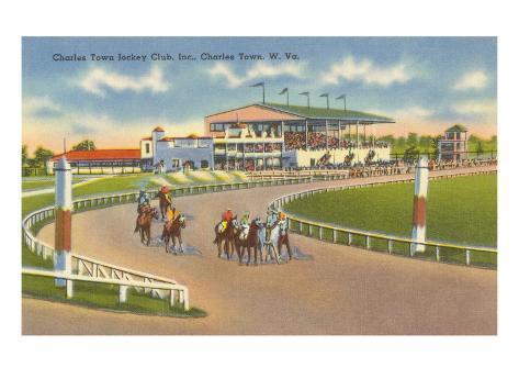 Hipódromo, Charleston, Virginia Oeste Lámina
