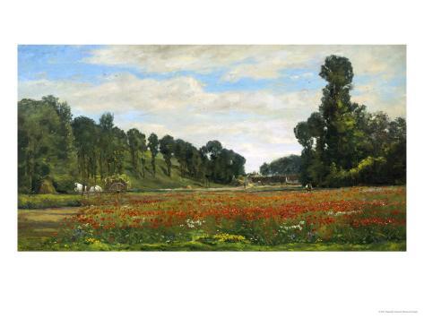 The Poppy Field Giclee Print