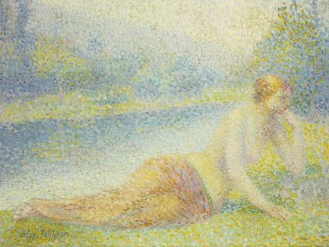 Reclining Nude Giclee Print