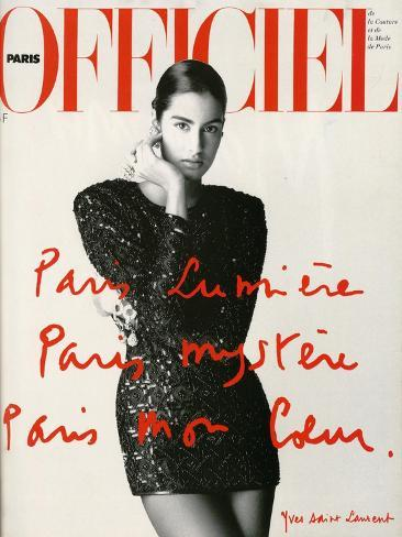 L'Officiel, May 1990 Taidevedos