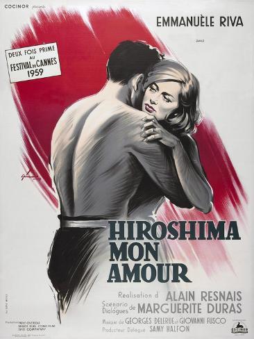 Hiroshima Mon Amour, 1959 Gicléetryck