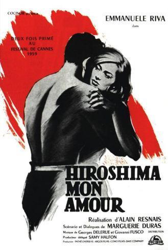 Hiroshima Mon Amour - French Style Poster