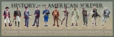 History of the American Soldier Art Print