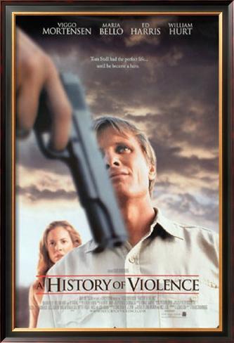 History Of Violence Pôster emoldurado