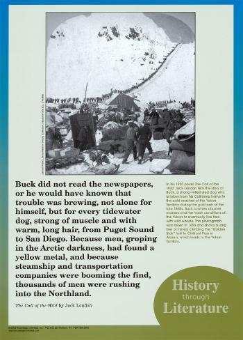 History Through Literature - Call of the Wild Art Print
