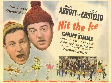 Hit the Ice, 1943 Art Print