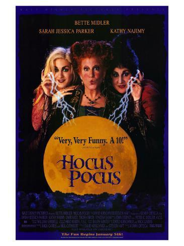 Hocus Pocus, 1993 Stretched Canvas Print