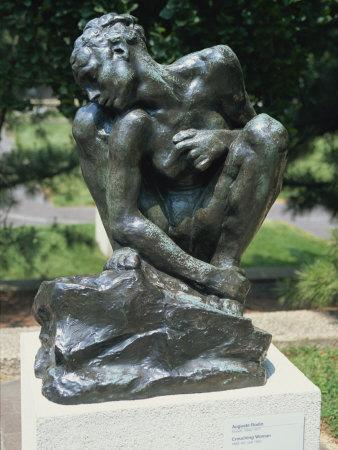 Auguste Rodin Sculpture In The Hirshhorn Sculpture Garden