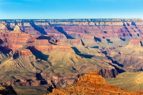 Arizona Grand Canyon National Park Mother Point in USA Photographic Print
