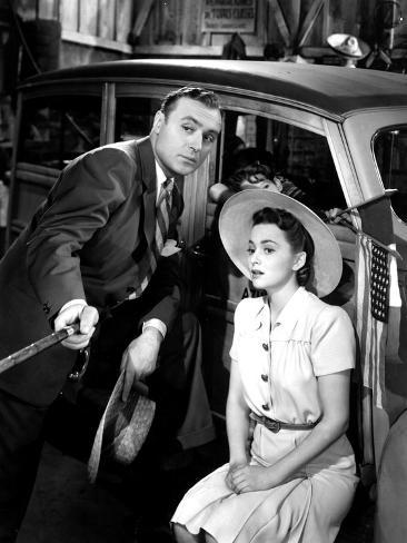 Hold Back The Dawn, Charles Boyer, Olivia Dehavilland, 1941 Foto