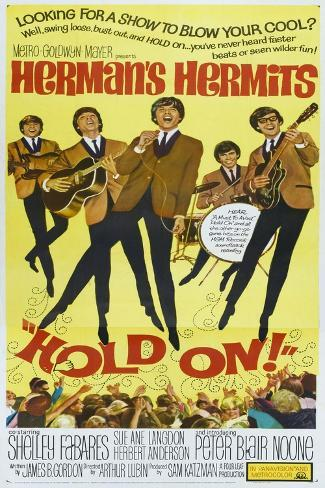 Hold On!, US poster, Peter Noone, 1966 アートプリント