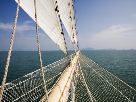 Bowsprit of Star Clipper Cruiseship Star Flyer Photographic Print