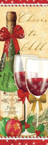 Holiday Cheers I Premium-giclée-vedos