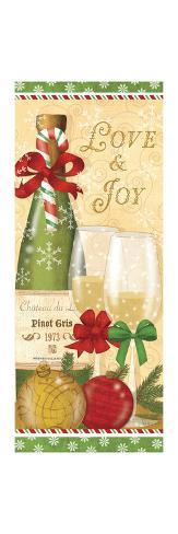 Holiday Cheers III Premium-giclée-vedos