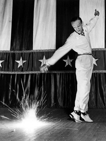 Holiday Inn, Fred Astaire, 1942, Dancing Photo