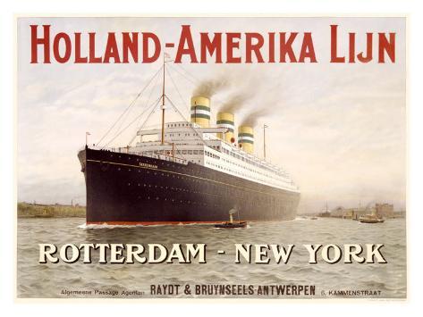 Holland to America Line Giclee Print