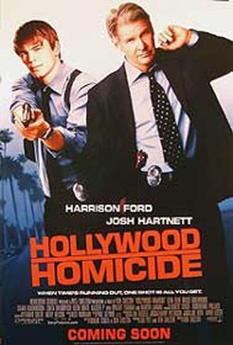 Hollywood Homicide Original Poster