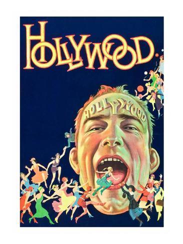 Hollywood Premium Giclee Print