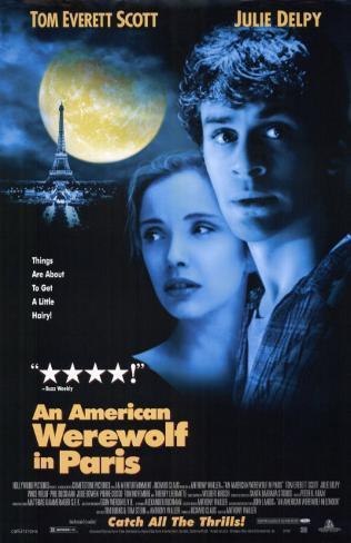 hombre lobo americano en París, Un Lámina maestra