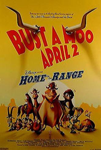 Home On The Range Original Poster