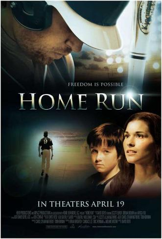 Home Run Movie Poster Pôster