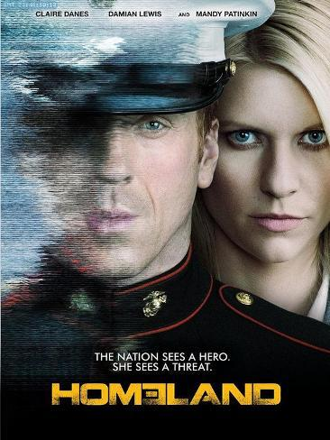 Homeland Television Poster ポスター