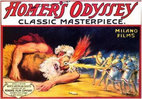 Homer's Odyssey Lámina maestra