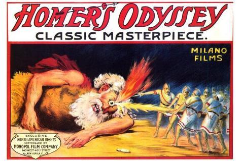 Homer's Odyssey Poster