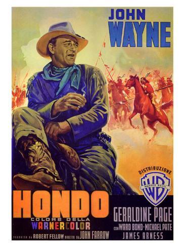 Hondo Art Print