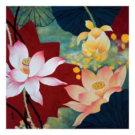 Lotus Dream II Art Print