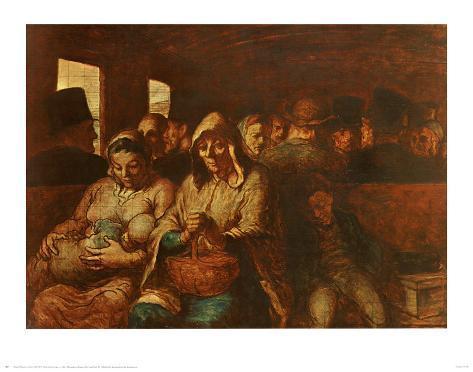 Third Class Carriage Art Print