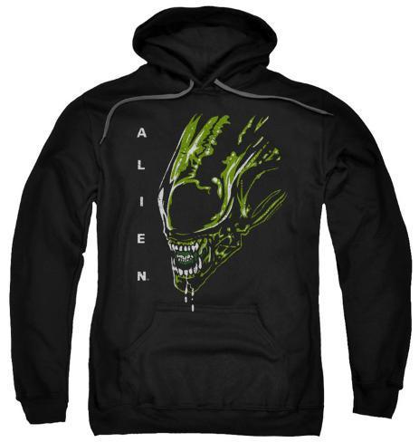 Hoodie: Alien - Acid Drool Pullover Hoodie